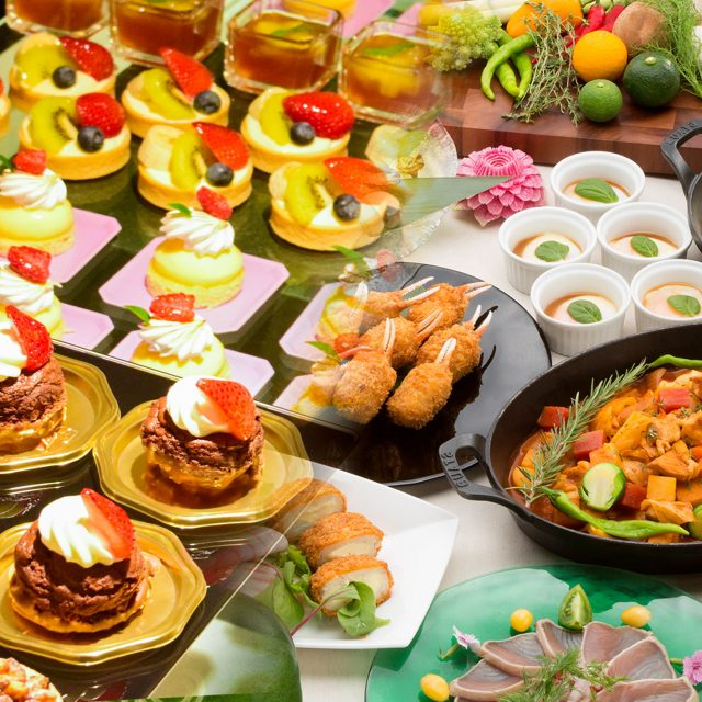 Sweets&Lunch Buffet