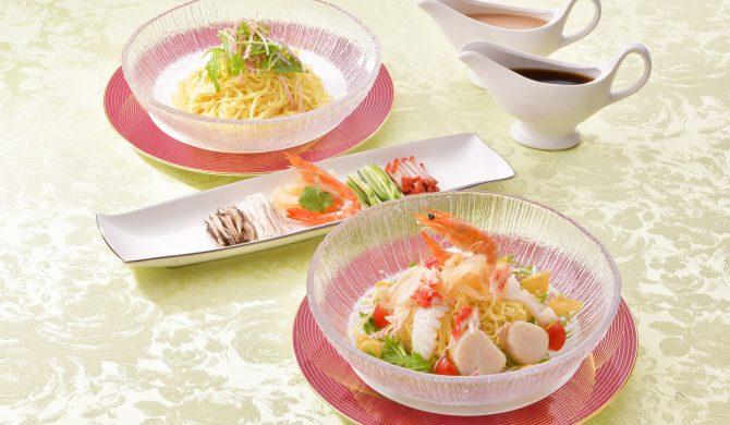 夏の風物詩 桃李冷麺
